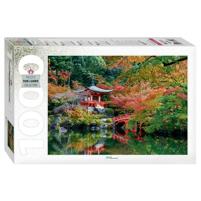 Puzzle Step-Puzzle-79117 Bentendo Hall. Daigoji Temple in Kyoto