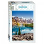 Puzzle  Step-Puzzle-79120 Moraine Lake, Kanada