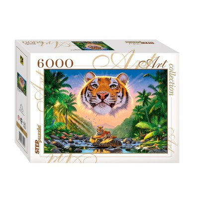 Puzzle Step-Puzzle-85501 Tiger