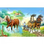 Puzzle  The-House-of-Puzzles-1417 XXL Teile - Gentle Giants