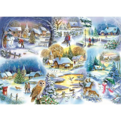 Puzzle The-House-of-Puzzles-1745 Let It Snow