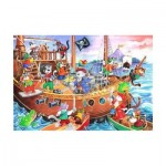 Puzzle  The-House-of-Puzzles-1851 XXL Teile - Pirates Ahoy