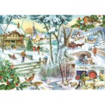 Puzzle  The-House-of-Puzzles-2148 Winter Wonderland