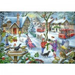 Puzzle  The-House-of-Puzzles-2728 Find the Differences No.3 - In The Snow