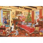 Puzzle  The-House-of-Puzzles-2827 Christmas Collectors Edition No.8 - Unexpected Guest