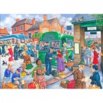 Puzzle  The-House-of-Puzzles-3077 XXL Teile - Bus Station