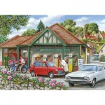 Puzzle  The-House-of-Puzzles-3411 XXL Teile - Fill Her Up Please