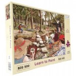 Puzzle  The-House-of-Puzzles-3527 XXL Teile - Learn To Paint