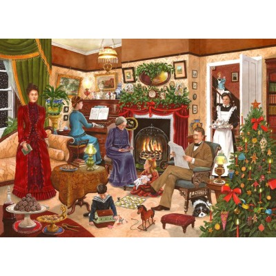 Puzzle The-House-of-Puzzles-4173 Christmas Collectors Edition No.12 - Christmas Past