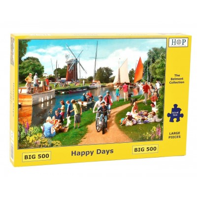 Puzzle The-House-of-Puzzles-4524 XXL Teile - Happy Days