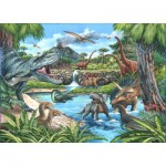 Puzzle  The-House-of-Puzzles-4722 XXL Teile - Dinosaurier