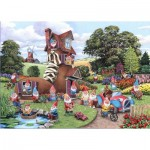 Puzzle  The-House-of-Puzzles-4746 XXL Teile - Gnome & Away