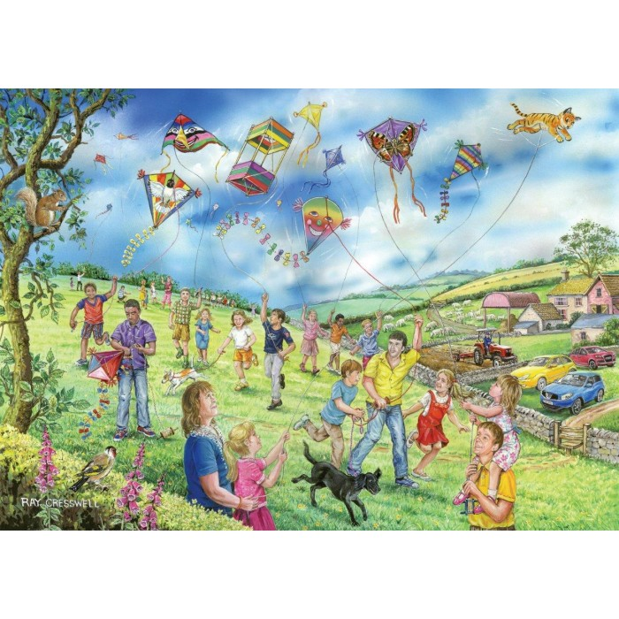 XXL Teile - Darley Collection - Let's Go Fly a Kite