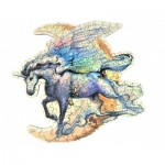 Wooden Puzzle - The Flying Unicorn