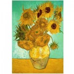 Holzpuzzle - Van Gogh - Sunflowers