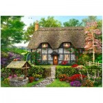 Wentworth-801902 Holzpuzzle - Meadow Cottage