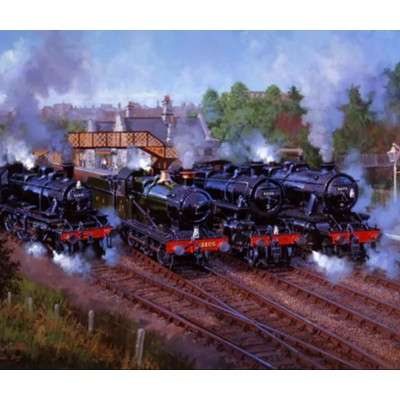 Wentworth-821809 Holzpuzzle - Severn Valley Railway 50th Anniversary