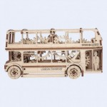 Wooden-City-WR303 3D Holzpuzzle - London Bus