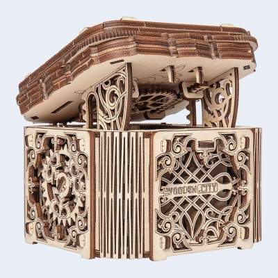 Wooden-City-WR315-8176 3D Holzpuzzle - Mystery Box