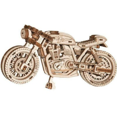 Wooden-City-WR340-8893 3D Holzpuzzle - Cafe Racer